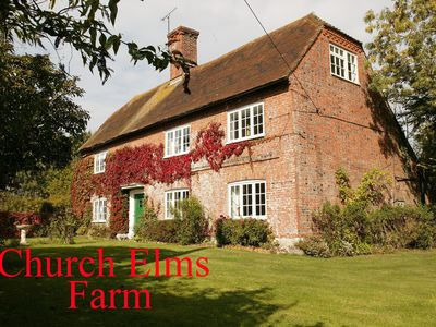 Photo for Church Elms Farm.Tennis Court.Games Room, Wi-Fi, 2 Acres.Woodchurch. Sleeps 8+2