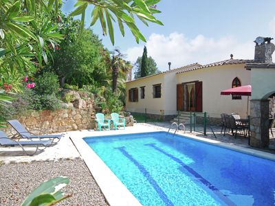 Photo for Lovely detached villa with private swimming pool in Calonge, near the beach