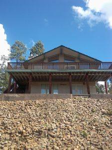 Photo for Oh The Views!!! Your Home Away From Home In The Cool Pines Of Beautiful Ruidoso