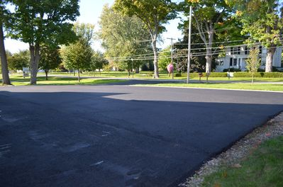 Driveway for off street parking