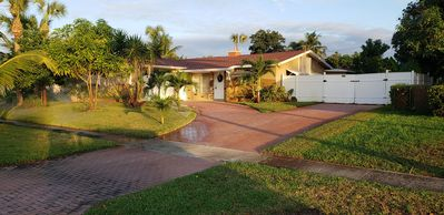 Photo for 3BR 3BA Charming Home with Pool!! Close to beach