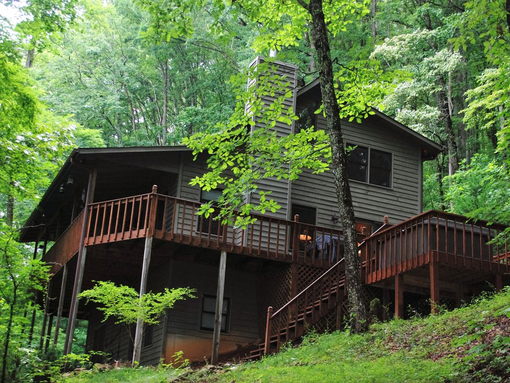 bear cave mountain cabin in the chattahoochee national