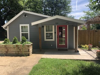 Photo for Darling little house, ideally located to the Bentonville Square & bike trails.