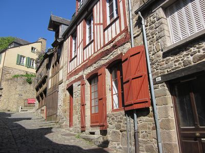 Photo for 3 bed 3 bathroom vacation/ holiday home  rue du petit fort close to dinan port