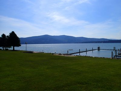 Photo for Perfect Summer & Fall Condo Rental, Easy living on the LAKE!!