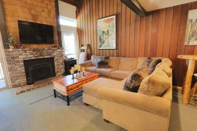 The perfect place to unwind after a day on the mountain or lake!