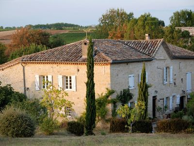 Photo for Gîte Le Syrah with swimming pool in a 250 year-old winery
