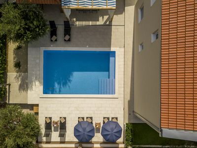 Photo for Villa Beata ,12km from Split ,peacefull oasis with heated pool ,gym..