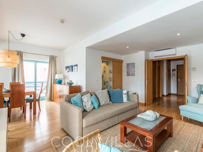 Photo for Marina water view apartment - 6 people, free wifi, air-con, parking, walking distance to restaurants & supermarket