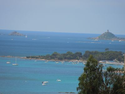 Photo for LARGE F2 BLOODY ISLANDS, AIR-CONDITIONED, EXCEPTIONAL SEA VIEW 4 pers.