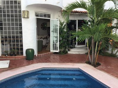 Photo for Charming Pool House close to beach