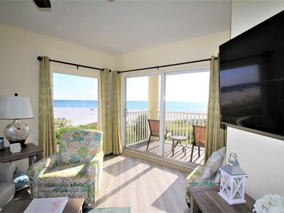 Photo for Sunset Vistas Condo-2bed/2bath -DIRECT Beach Front unit- FREE WiFi,Heated Pool.