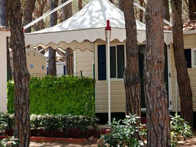 Photo for Comfortable mobile home on park directly at the beach with many facilities