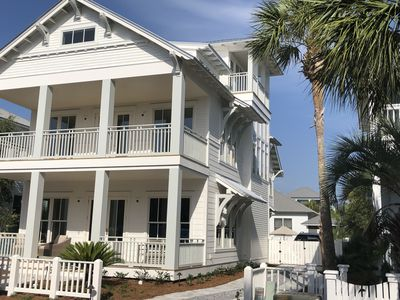 Photo for New Luxury Home w/Pool Near Rosemary/ Uncrowded Beach 2 houses away!