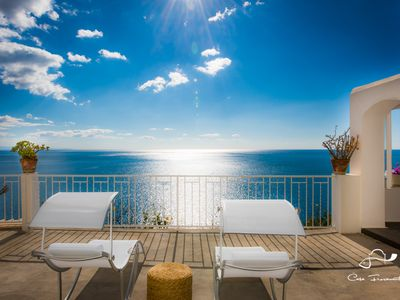 Photo for Charming home in Positano