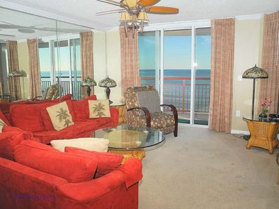 Photo for South Shore Villa Unit 1001! Stunning Oceanfront Premium Condo. Book your get away vacation today!
