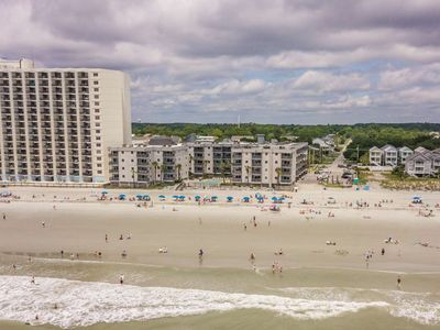 Photo for Oceanfront 2BR King Bed! the Balcony to Really Enjoy the Beach