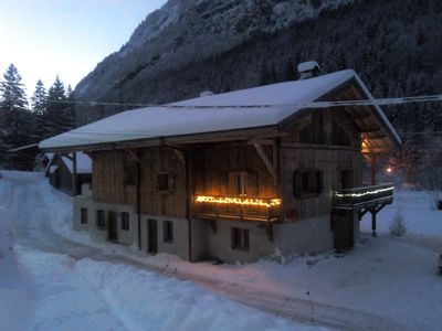 Photo for modern chalet ****, 8 to 10 people, in the heart of the Grand massif