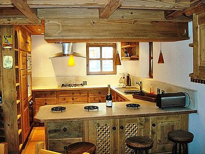 Photo for Bucher Chalet Champagny - 6 Rooms 10 People