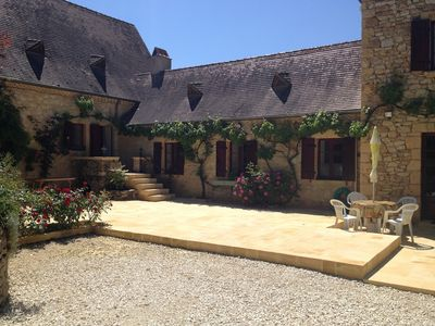 Photo for Laugerie Basse Gites, Pavot Gite with Heated Pool