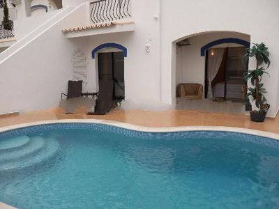 Photo for 2 bedroom Villa, sleeps 6 in Vale do Lobo with Pool, Air Con and WiFi
