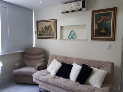Photo for Ipanema 2 bedrooms lagoon and beach