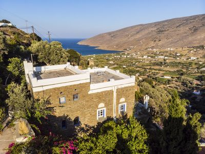 Photo for ANEZAS MANSION (stone-built traditional tower house Andros Island-Greece)