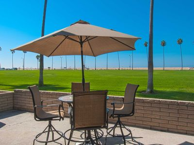 Photo for You Will Love the Ocean View From This Large Patio in a Park Like Setting