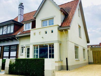 Photo for Renovated villa near the beach and the centre of De Haan