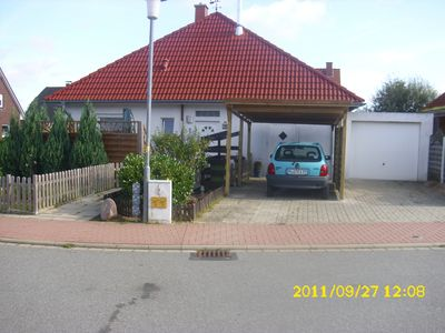 Photo for Non smoking apartment on the first floor with separate entrance and parking space (carport)