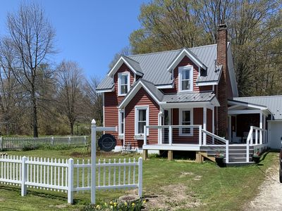Charming cottage in the village of Findley Lake. Just minutes from Peek'n Peak.