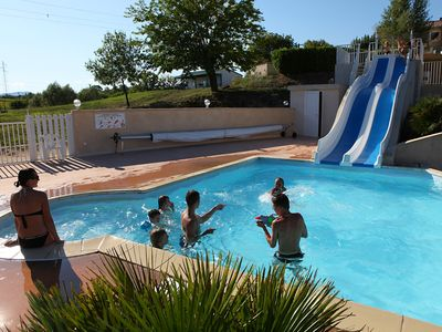 Photo for Village of Gîtes (from 2 to 8 pers.) With heated pool, south Ardèche