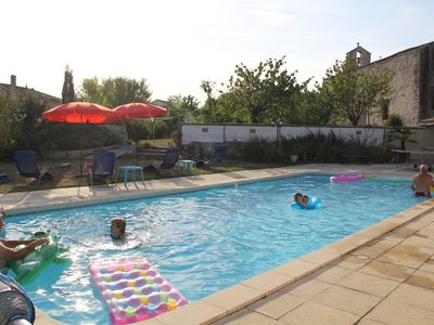 Photo for Poppies lovely Charentaise Property. wifi, swimming pool .