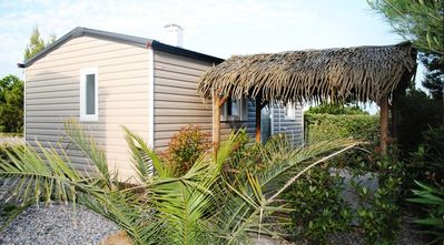 Photo for Camping La Grange Neuve *** - Mobil Home Flamant Rose 3 rooms 4 persons