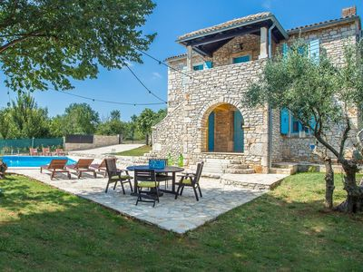 Photo for Modern Holiday Home with Pool in Sveti Lovrec Croatia