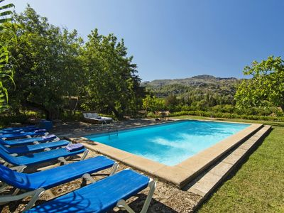Photo for Can Jeronimo - Original Stone Clad Finca with Private Pool, located at the Foot of the Tramuntana Mountain Range ! - Free WiFi