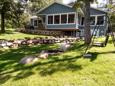 Photo for Premier Long Lake Secluded and Private Year Round Home , Newly Remodeled , Wi-fi
