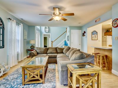 Photo for REHOBOTH GETAWAY - 5BR 3.5BA  FAMILY FRIENDLY TOWNHOME W/ COMMUNITY POOL