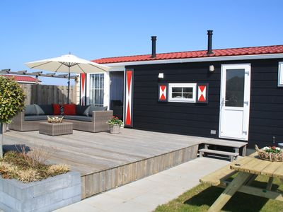 Photo for Comfortably furnished chalets in Zeeland. Sun, sea, beach.