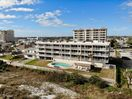 The Beachdrifter Condo from the ocean, #401 is top left condo! Awesome views!