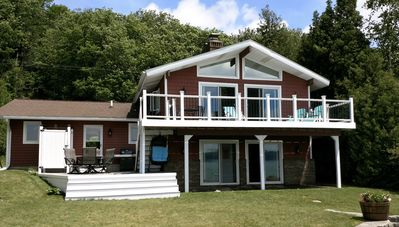 Photo for Beautiful Home With 75' Of Private Frontage On The North Shore Of Crystal Lake