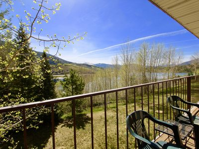 Photo for 2 bedroom Condo overlooking Lake Dillon CC43