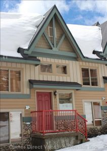 Photo for Beautiful Ski in Ski out Townhouse 5 Min from the Village