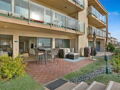 Photo for New Listing💞 Solanabeach Sunsets-OCEANFRONT-AC-Updated-2 large parking-W/D