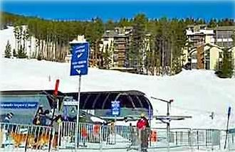 SkiWatch overlooks the Peak 8 lifts. A true ski-in ski-out location!