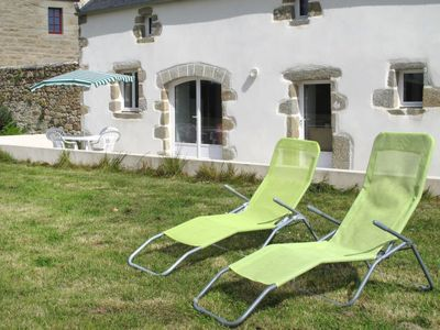 Photo for Vacation home La Maison en Pierres (PNR216) in Plouneour Trez - 4 persons, 2 bedrooms