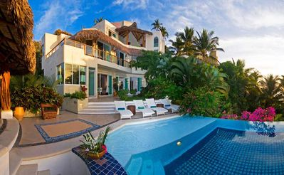 Photo for Stunning 9000 Square Foot Casa Dos Palapas- Chef included