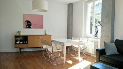 Photo for Duplex Style Loft of 50m ², Hyper-Center of Amboise, 5 minutes from the Château / Clos Lucé