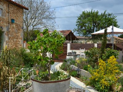 Photo for Luxury accomodation in converted barn set in the sunflower strewn south Vienne