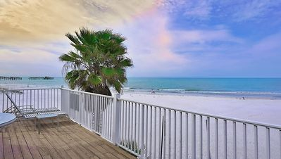 View from the Balcony outside Unit 4 and Shared with Unit 3 of the expansive Coastline